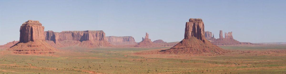 Blick auf das Monument Valley in Utah.
