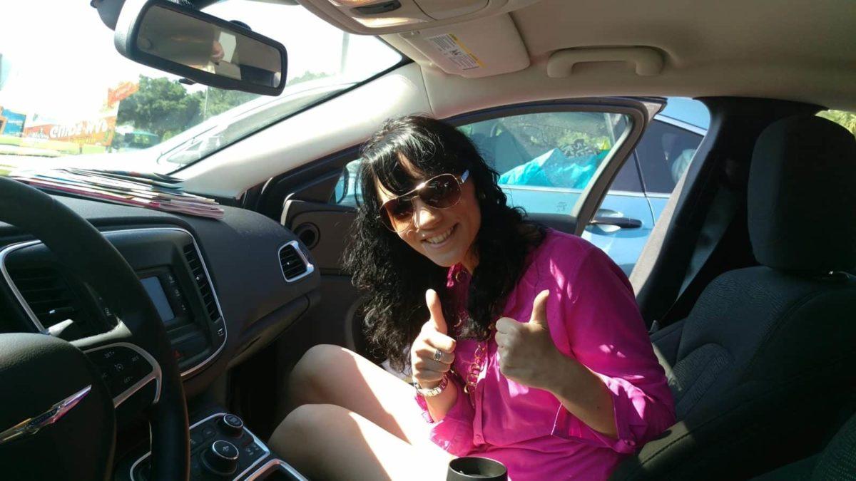BloggerSteffi im USA Mietwagen