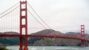 Die Golden Gate Bridge in San Francisco.