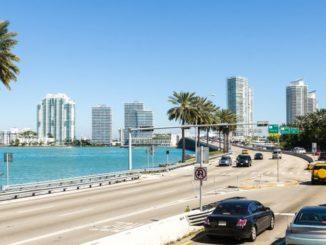 Mietwagen fahren in Florida USA
