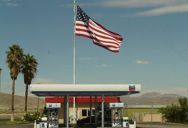 Tankstelle in den USA