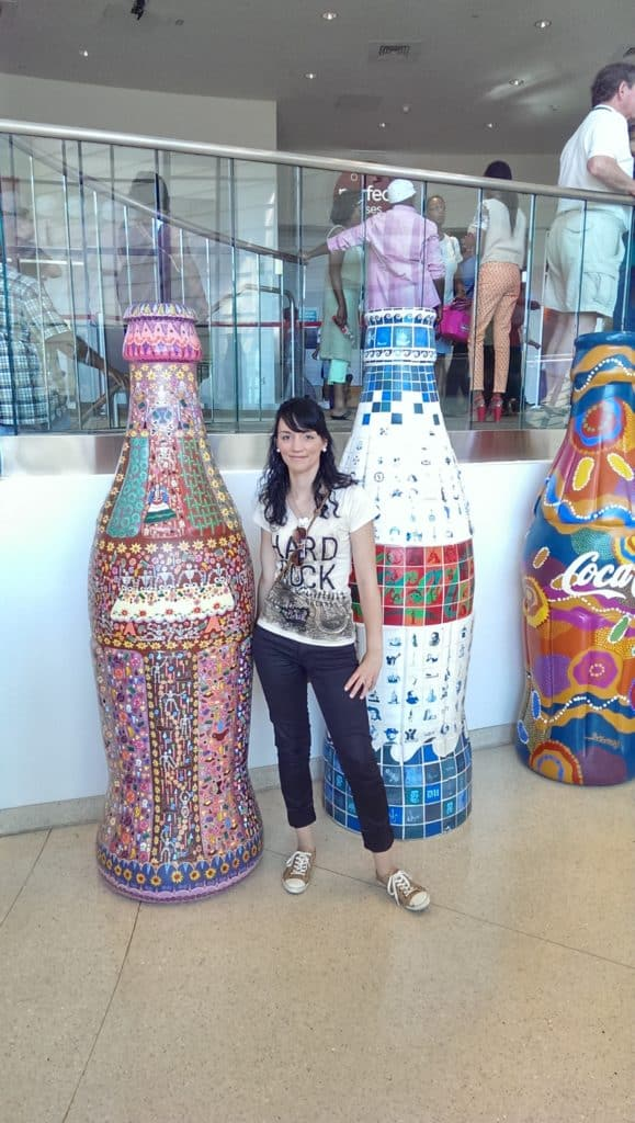 Zu Gast in der Worl of Coca Cola in Atlanta