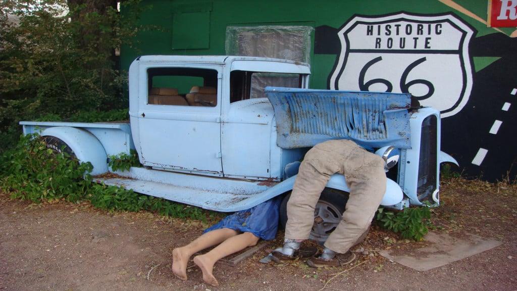 Historic Route 66 mit seinem legendären Charme