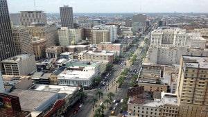 Ein Blick von oben auf die Straßen von New Orleans in Louisiana. (Bild: pixabay.com)