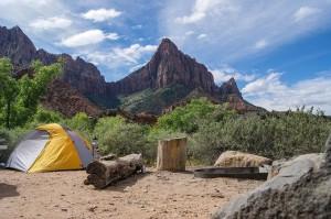 Campen auf Campingplätzen (Campgrounds) in den USA