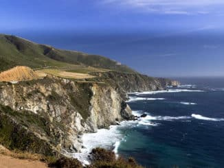 Der traumhafte Küsten Highway Number 1.
