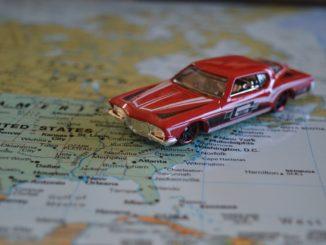 Geld Sparen auf einer Mietwagen Reise durch die USA