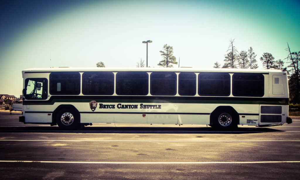 Bryce Canyon Shuttle Bus