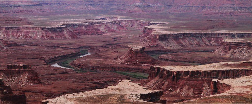 Blick über den Canyonlands Nationalpark.