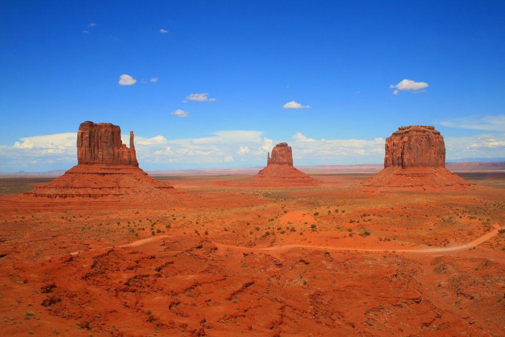 Das Monument Valley im Süden von Utah.