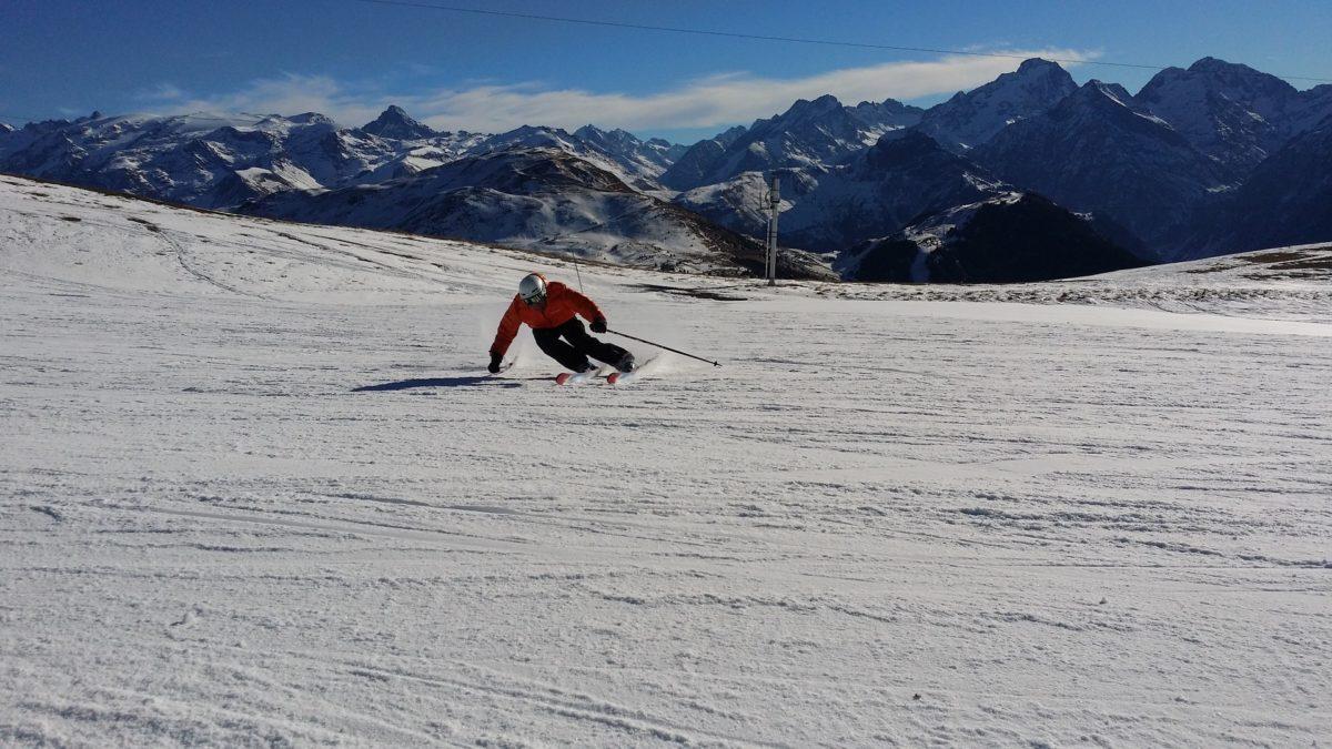 Ski fahren im Skigebiet Arapahoe Basin