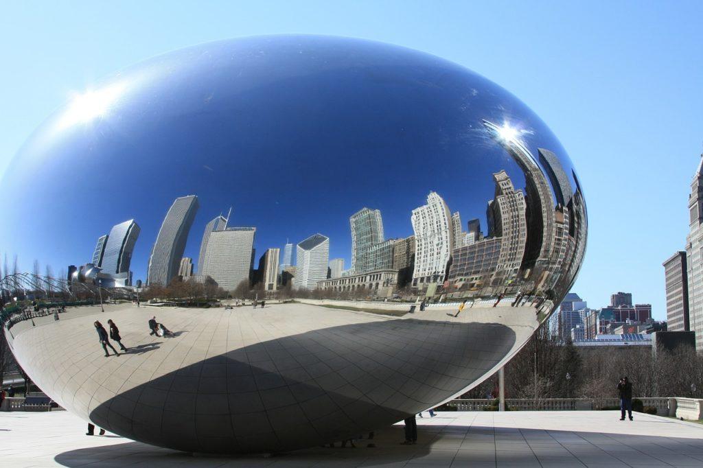 Chicago Wahrzeichen - Cloud Gate