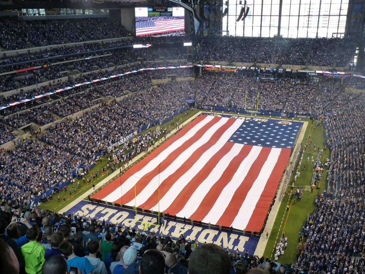 Football Stadion der Indianapolis Colts