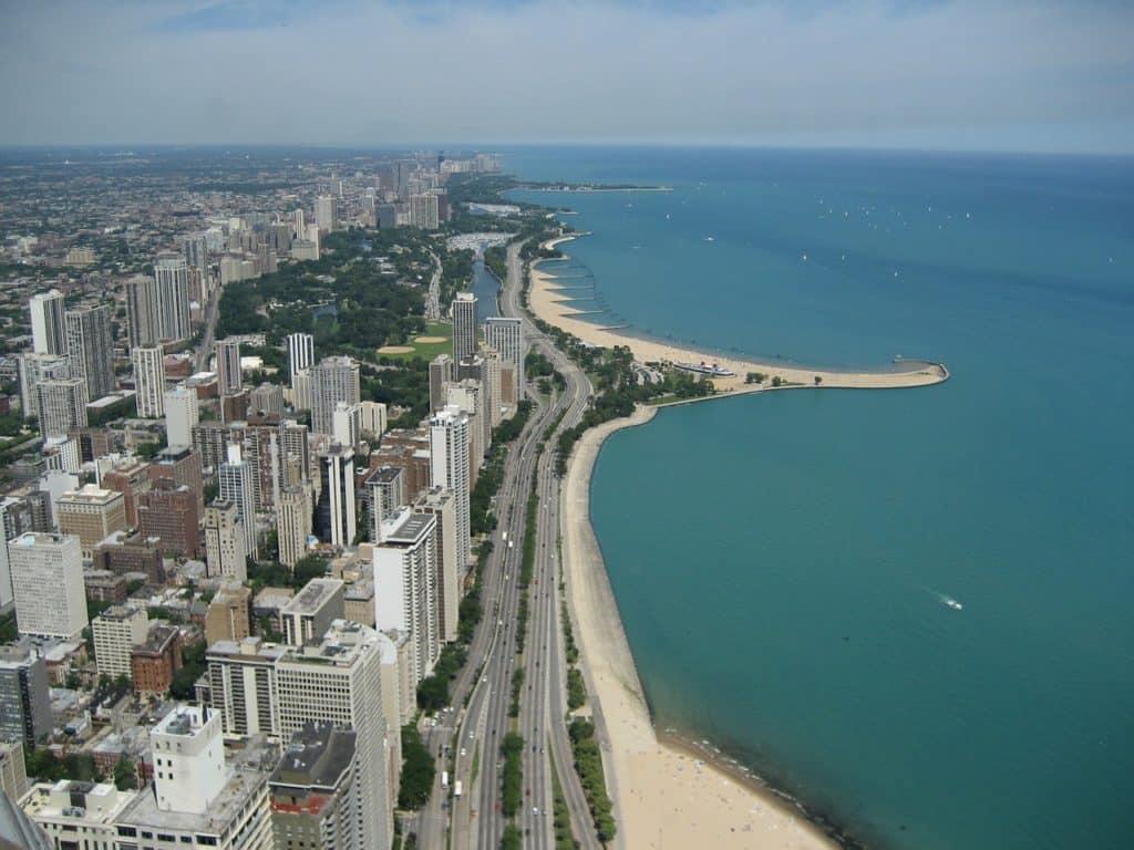 Die Strände in Chicago