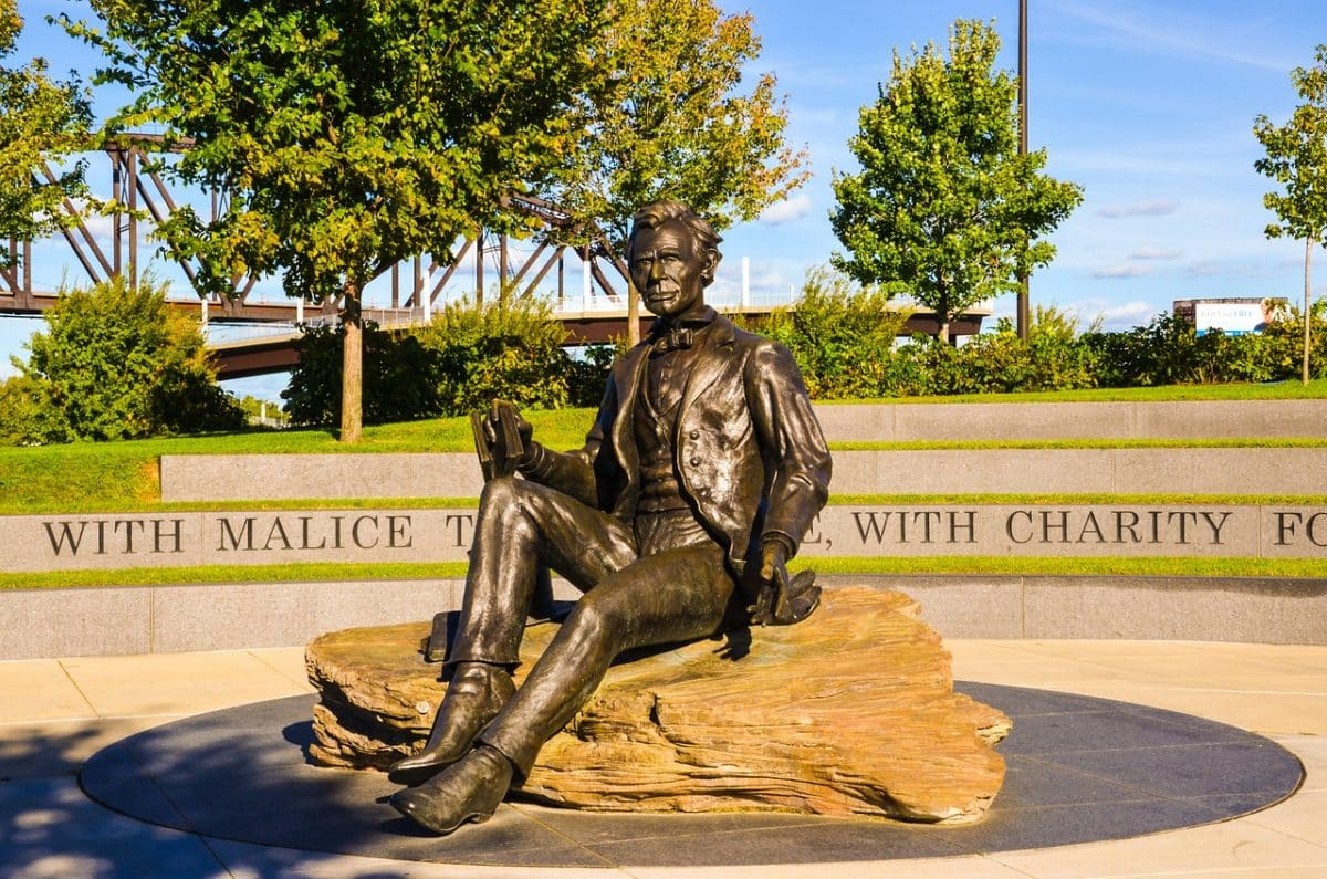 Statue in Louisville, Kentucky