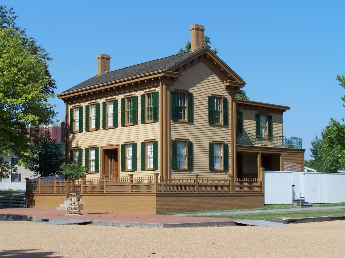 Lincoln Home National Historic Site in Springfield, Illinois