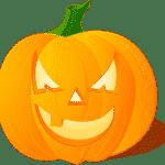 Böser Halloween Kürbis