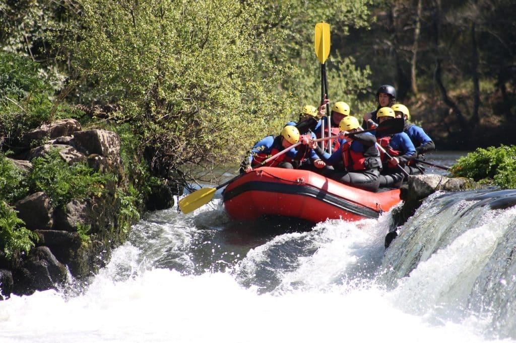 Rafting auf dem Chattooga River