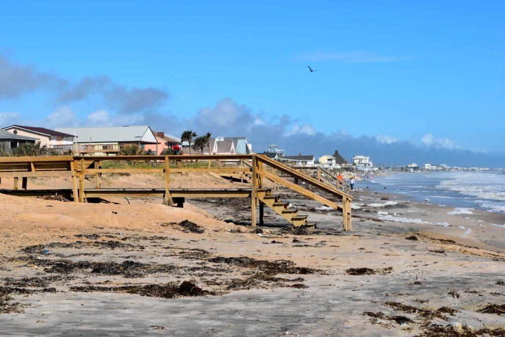 Vilano Beach bei St. Augustine, Florida