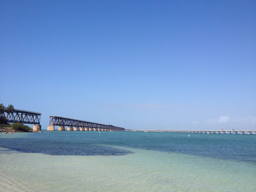 Calusa Beach auf den Florida Keys in Florida.
