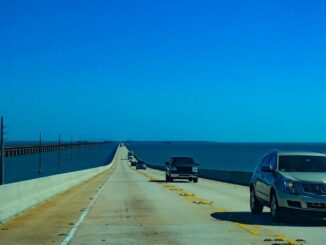 Key West mit der Seven Mile Bridge in Florida
