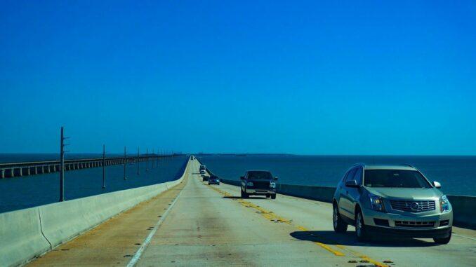 Key West mit der Seven Mile Bridge in Florida